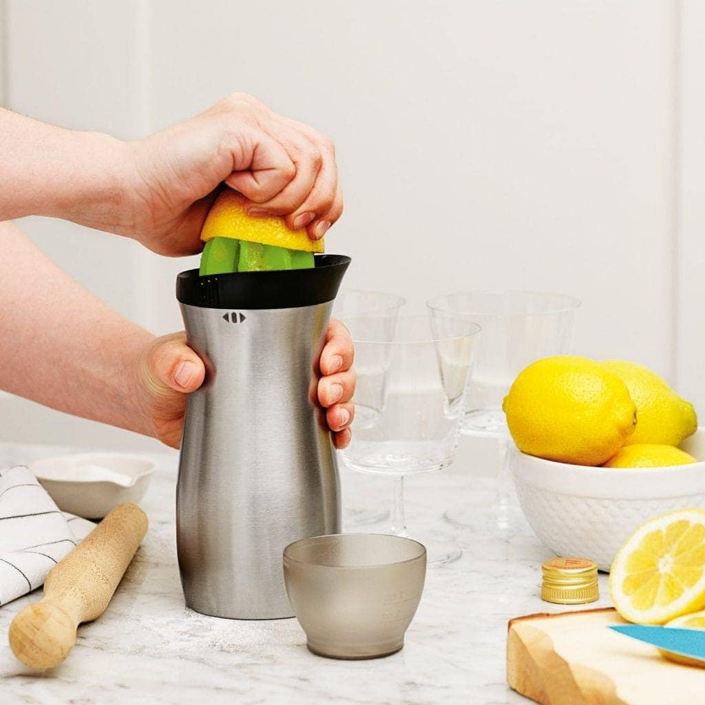 Tovolo 4-in-1 Stainless Steel Cocktail Shaker