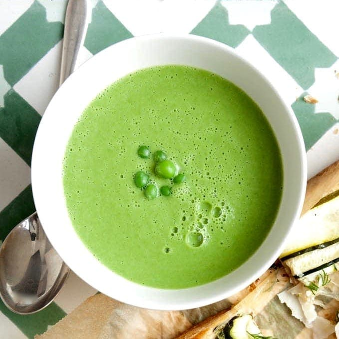 5-Ingredient Pea Soup