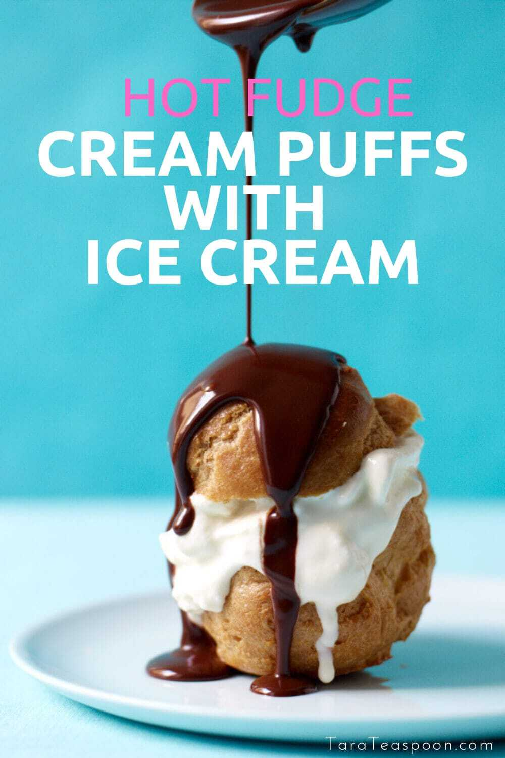 ice cream cream puffs pin