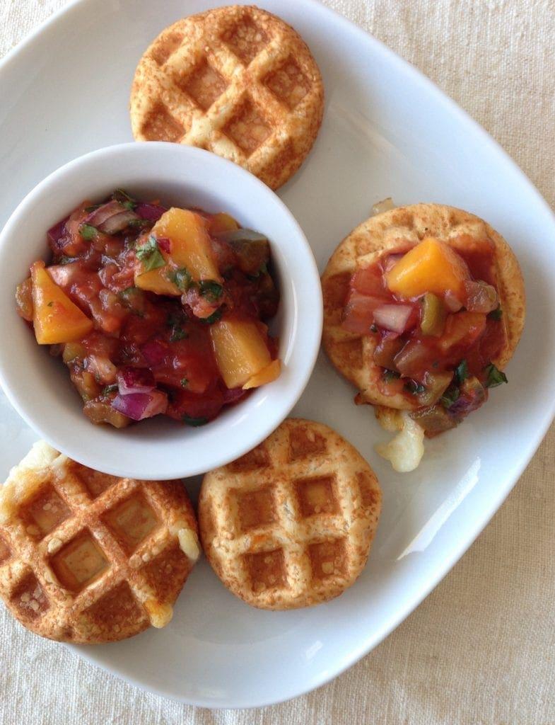 Mozz Waffle Bites