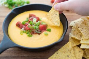 Homemade Nacho Cheese Dip Recipe image