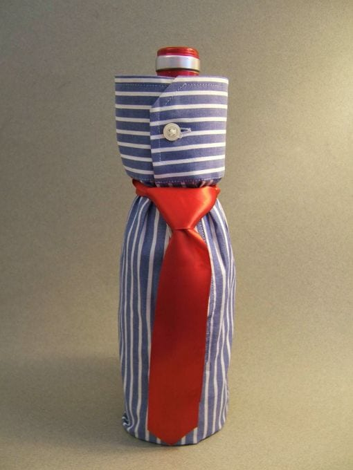 Shirt and Tie Bottle Wrap