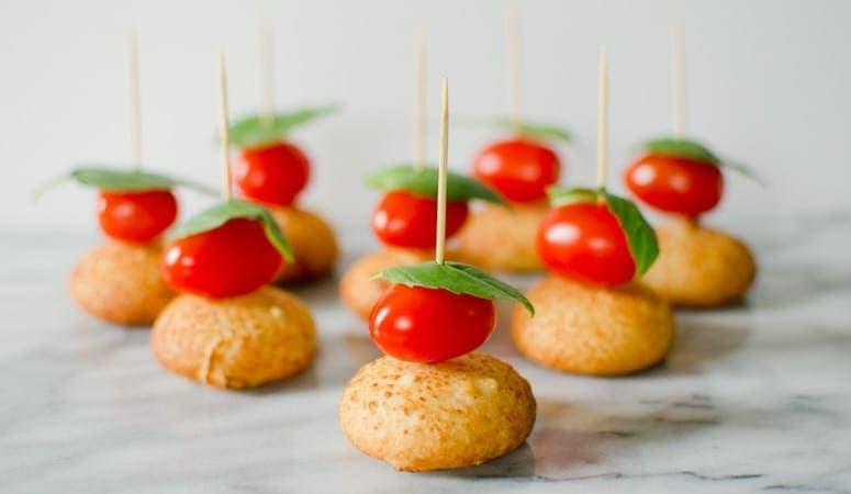 Mozzarella Bite Caprese Bites