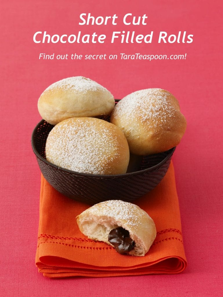 Short Cut Chocolate Filled Rolls