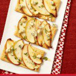 Easy Apple and Blue cheese Tarts make perfect appetizers