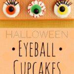 Eerie Eyeball Cupcakes pin
