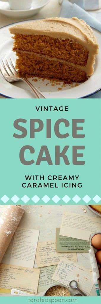 spice cake long pin