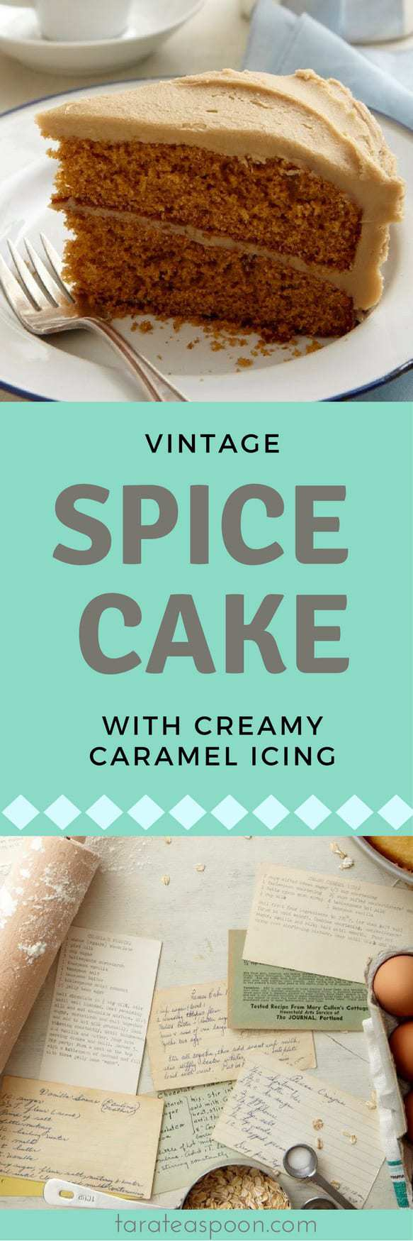 spice cake long pin