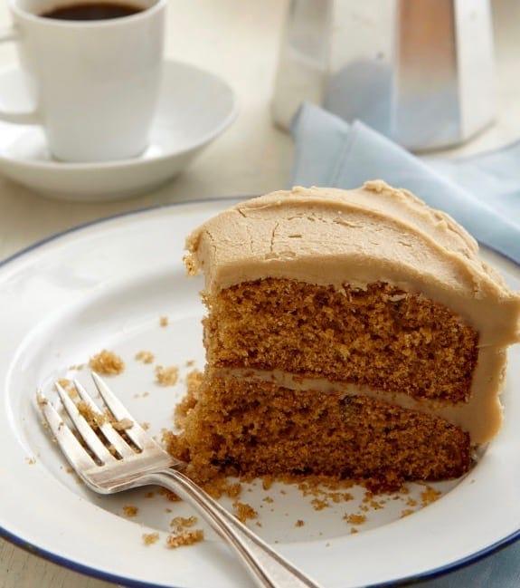 Spice Cake With Creamy Caramel Icing2