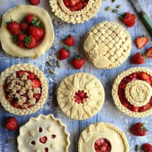 Image of Jo Harrington's decorative pie crusts