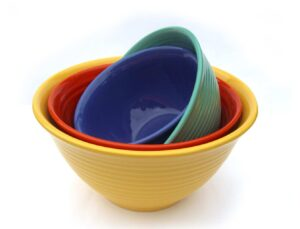 Bauer Pottery Nesting Bowls