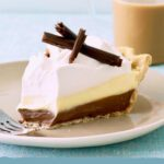 chocolate and vanilla pie pin