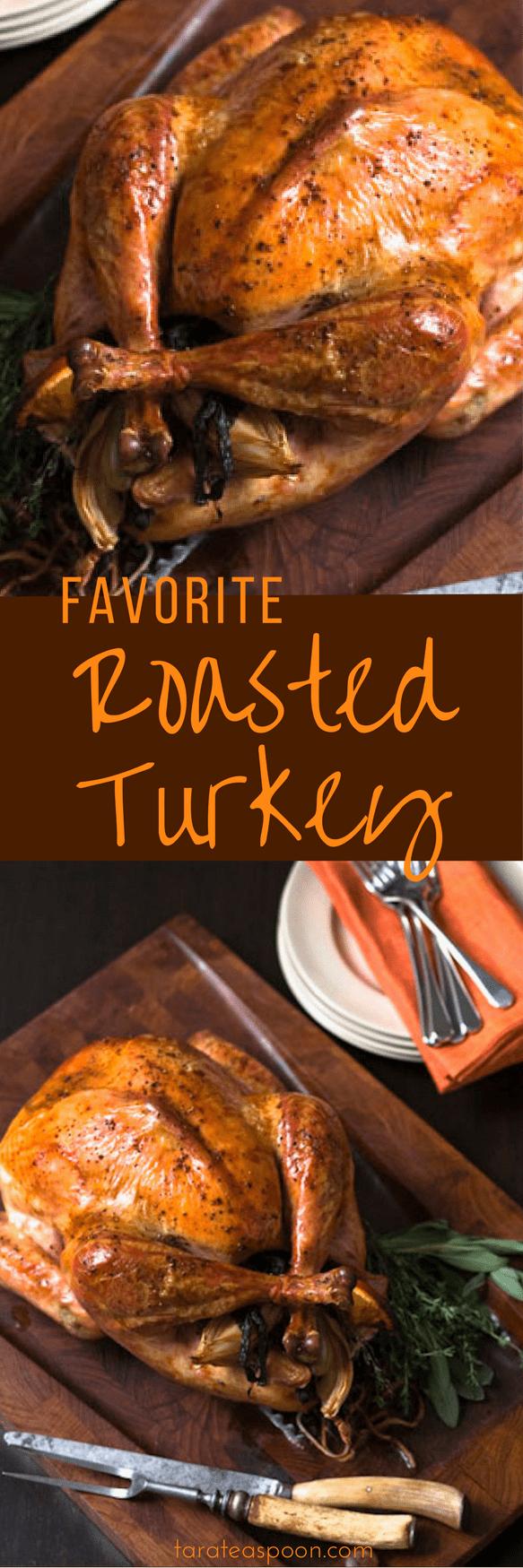 favorite roasted turkey long pin