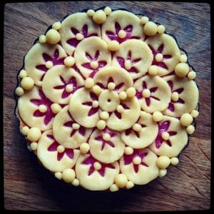 Beautiful pie crust example from Julie from Cooking and Baking Mostly