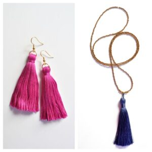 Libby and Smee Tassel Jewelry