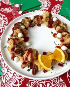 Chicken Bites Wreath recipe image