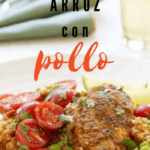 slow cooker arroz con pollo recipe pin