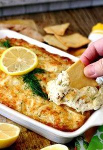 Crab dip recipe image