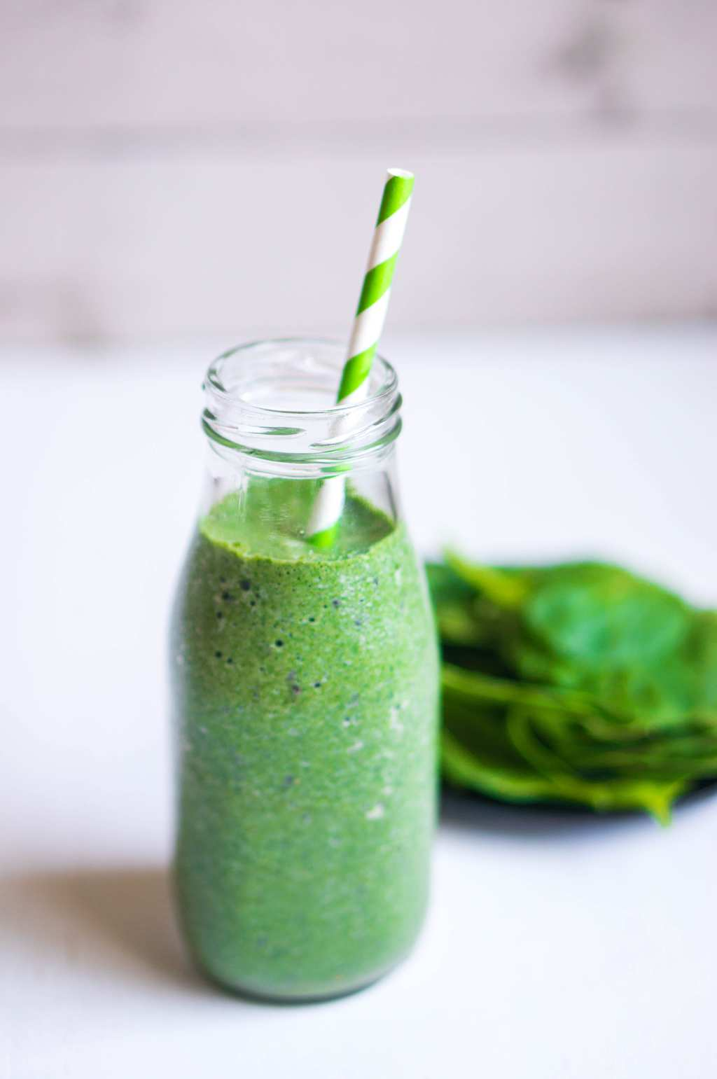 Green Goddess Smoothie is packed with healthy spinach and fruit