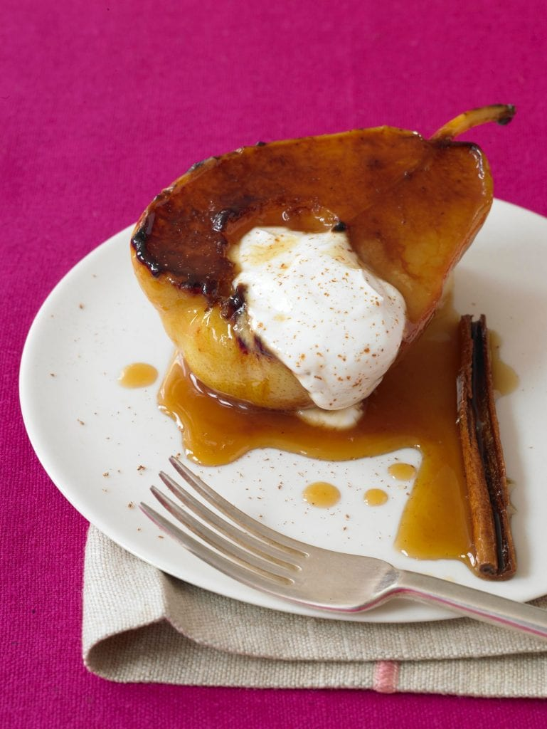 perfect pears fat-free dessert