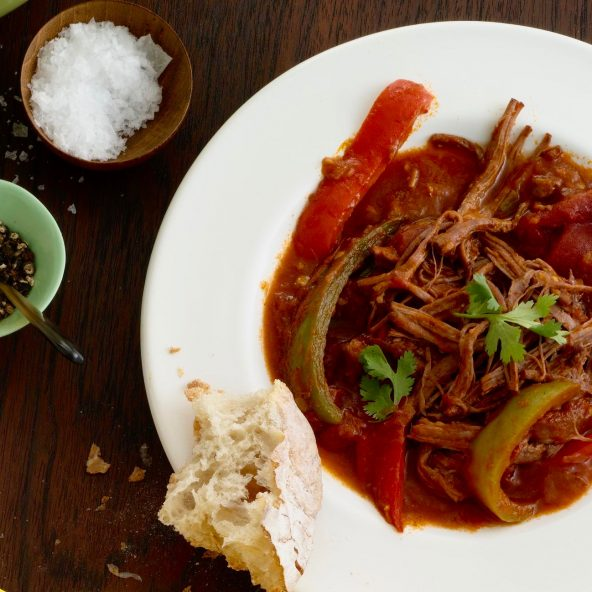 Ropa Vieja (Slow Cooker Cuban Braised Beef) • Tara Teaspoon