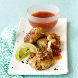 Ginger Thai Chicken Patties