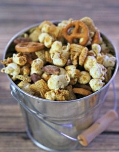 Wasabi Almonds in snack mix