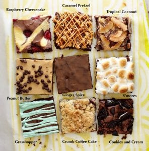 Think outside of the box brownies for delicious flavors you'll love