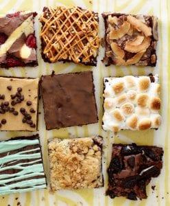 Box brownie variations