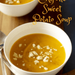 Chipotle Sweet Potato Soup pin image