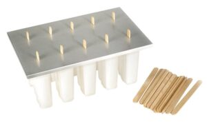 Frozen Pop molds with wooden sticks affiliate image