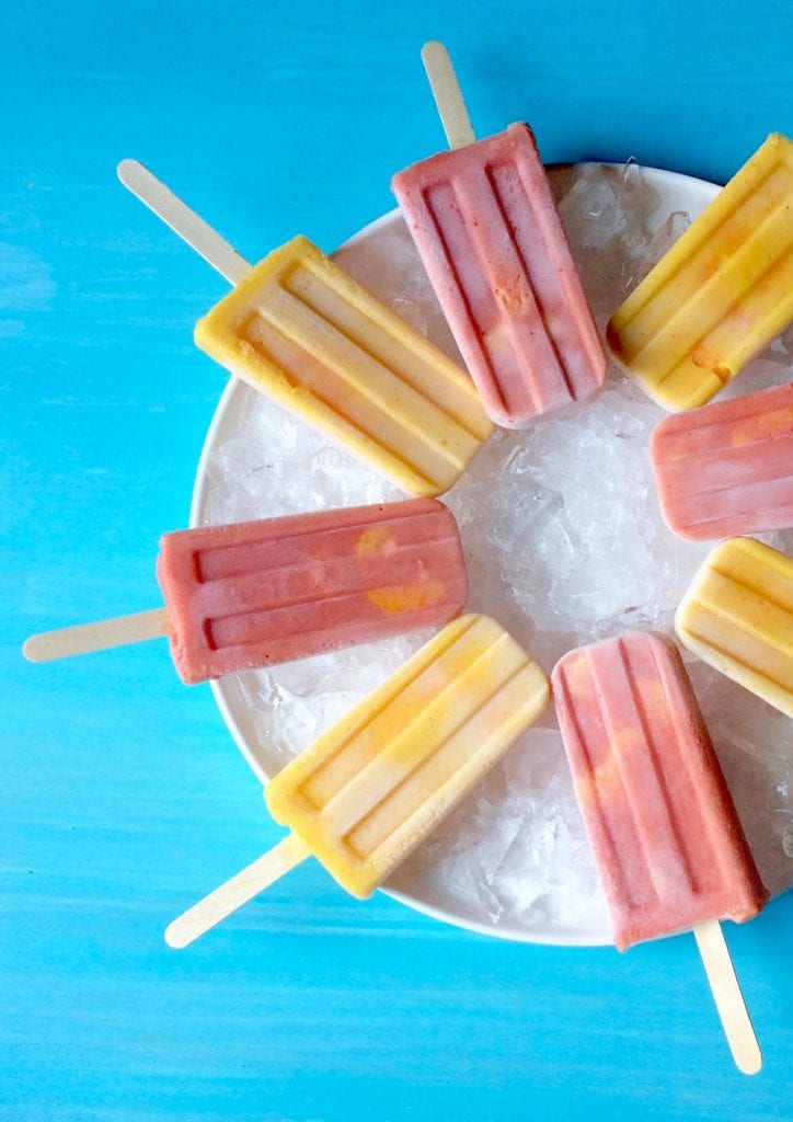 Halos Mandarins Frozen Smoothie Pops are a delicious snack, or breakfast!