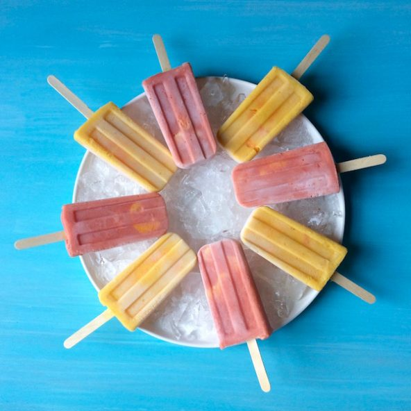 Halos Mandarins Frozen Smoothie Pops