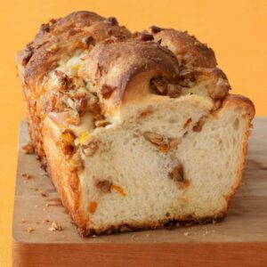 Orange Nut Swirl Bread is easy with my frozen dough hack!