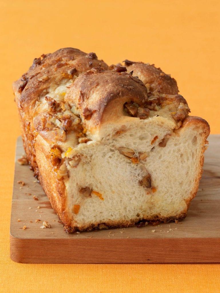 Orange Nut Swirled Bread is easy with my frozen dough hack!