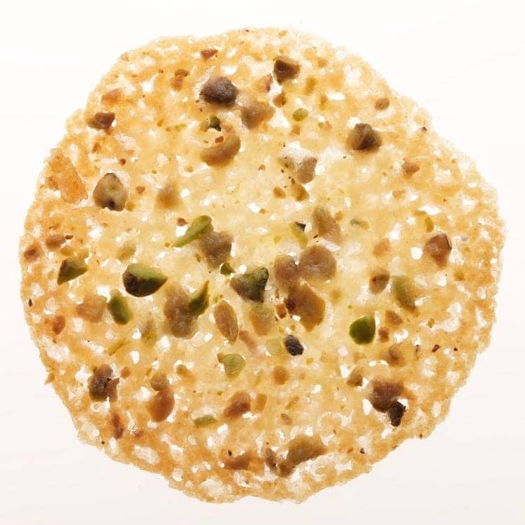 Pistachio Lace Cookies