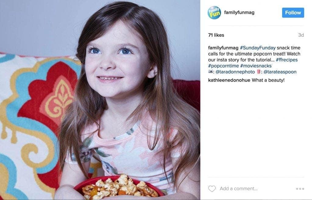 Family Fun Instagram Post