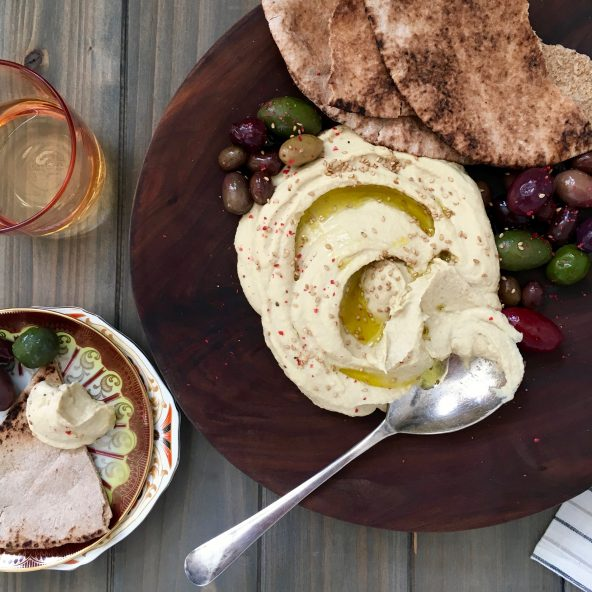 The Real Deal Creamy Hummus • Tara Teaspoon