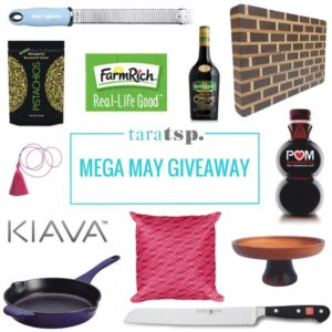 Tara Teaspoon's Mega May Giveaway!