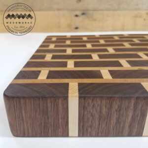 brick pattern cutting board flat