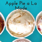 Easy homemade ice cream Apple Pie a La Mode flavor with a vanilla base. No churn required just use a KitchenAid.
