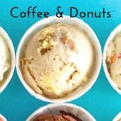 Coffee & Donuts Homemade Ice Cream image