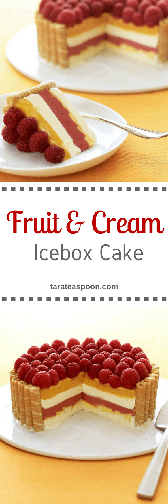 Tara Teaspoon Fruit and Cream Icebox Cake
