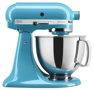 Aqua blue Kitchenaid mixer affiliate image
