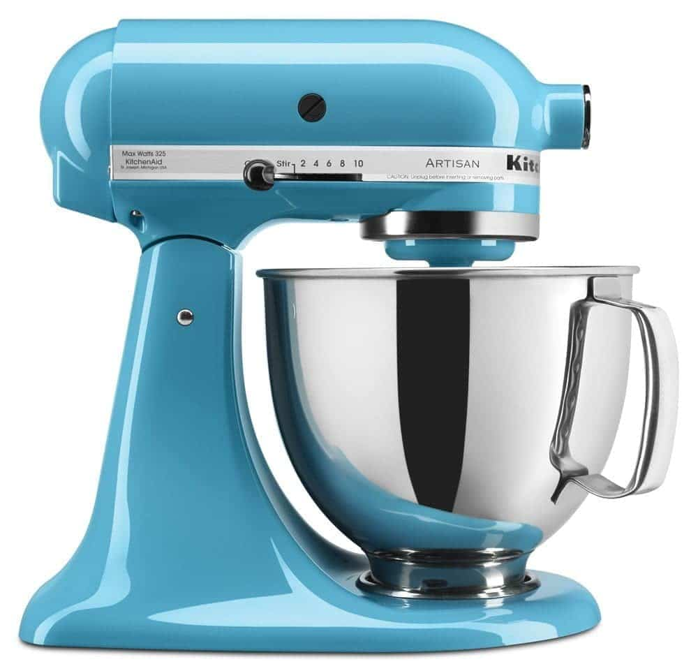 Mix ice cream in a Kitchenaid mixer to soften it for mix ins.
