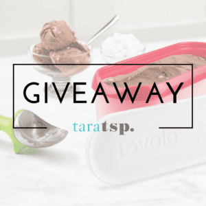 ice cream GIVEAWAY Tovolo products feature