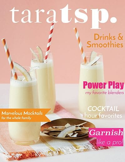 drinks and smoothies emagazine cover image