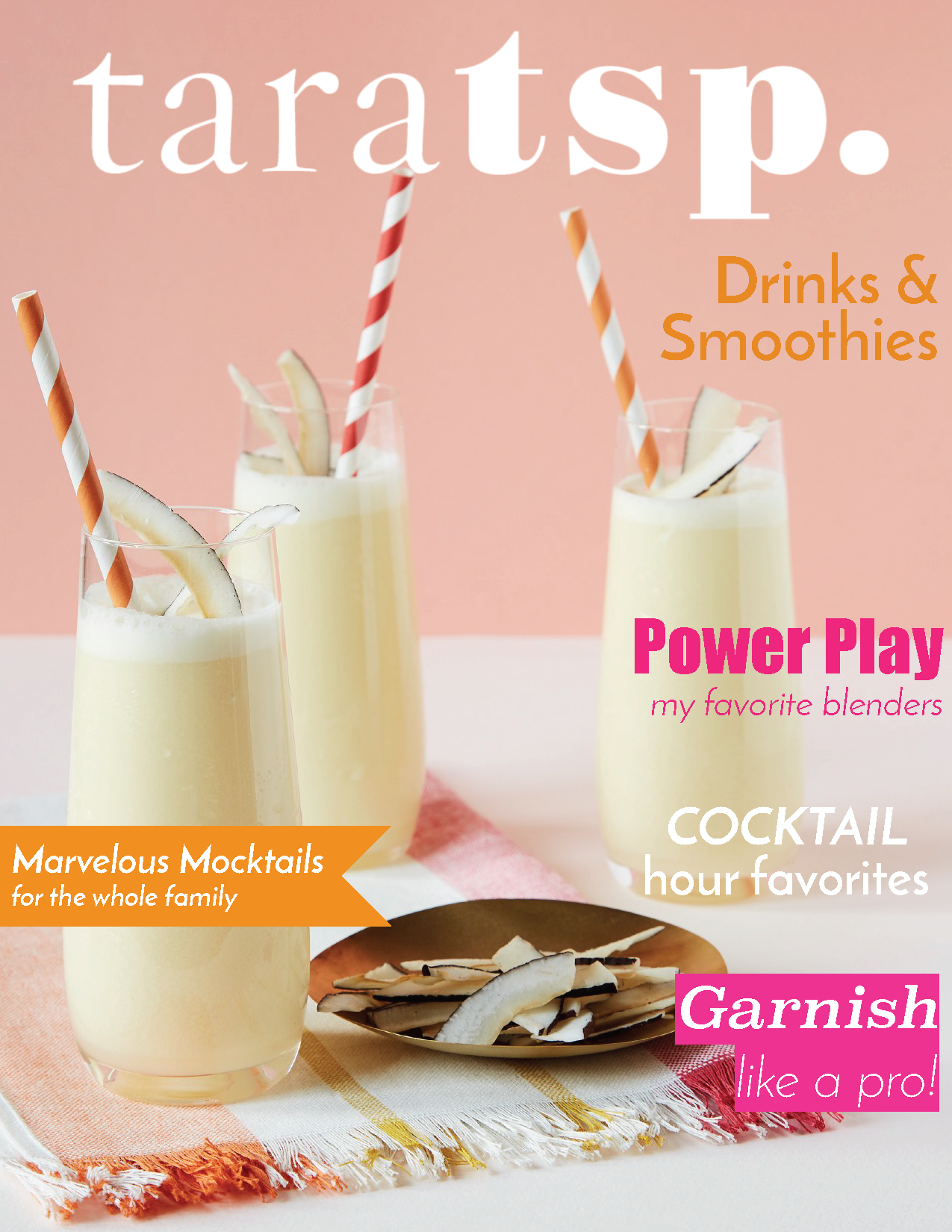 drinks and smoothies magazine cover img
