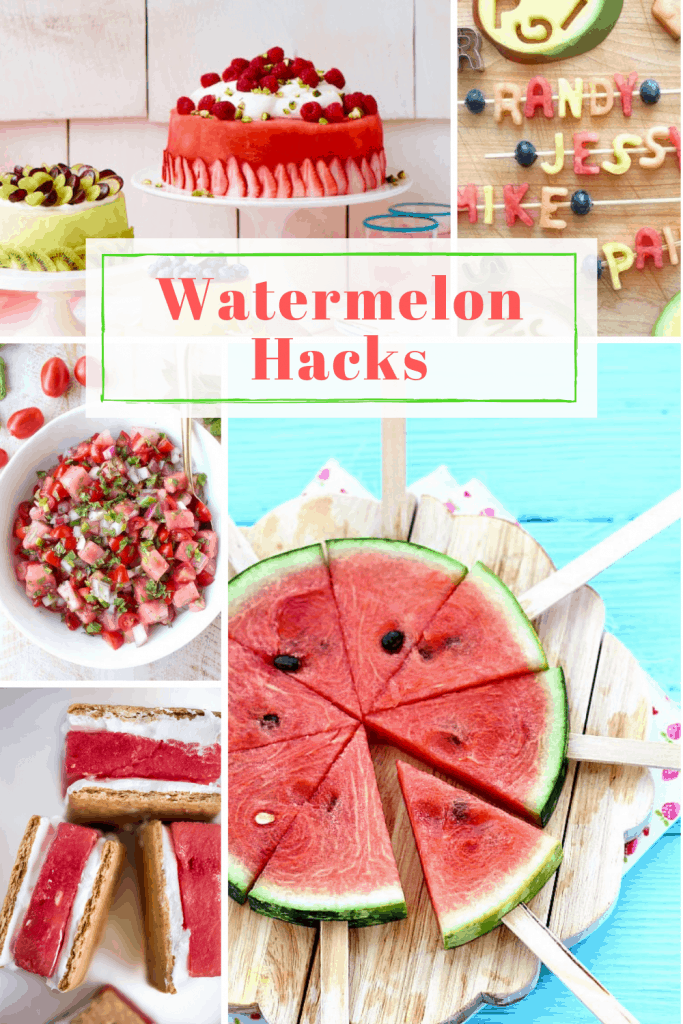 Watermelon recipes pin