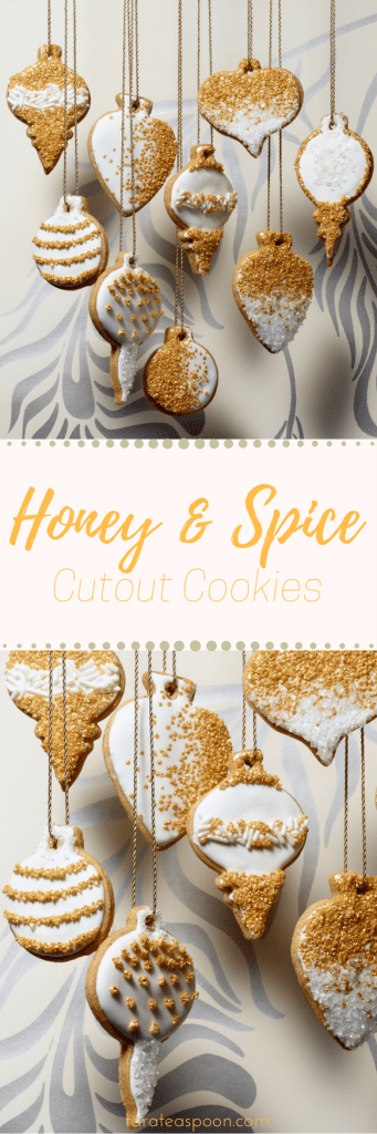 honey and spice cookies long pin